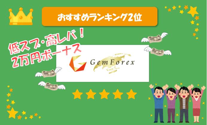 gemforexランク画像