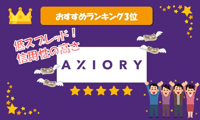 Axioryランク画像