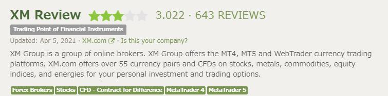 FPRのXM評価画像