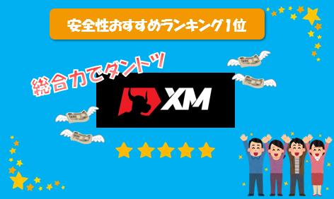 安全性でおすすめ海外FX口座比較(XM)